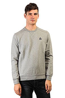 Толстовка свитшот Le Coq Sportif Chouki Light Heather Grey