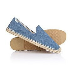 Эспадрильи Soludos Smoking Slipper Dark Blue