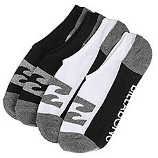 Носки низкие Billabong Invisible Sock 2 pack Assorted
