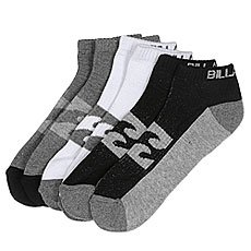 Носки низкие Billabong Ankle Sock 3 packs Assorted