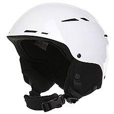 Шлем для сноуборда женский Roxy Alley Oop Rent Bright White