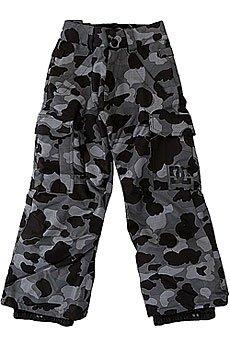 Штаны сноубордические детские DC Banshee Camouflage Lodge Gre