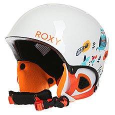 Шлем для сноуборда женский Roxy Misty Girl Pck G Little Owl/Bright White