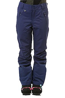 Штаны сноубордические женские Roxy Winterbreak Blue Print