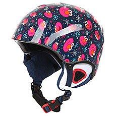 Шлем для сноуборда детский Roxy Misty Girl Elmo Print Blueprint