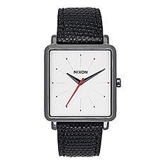 Кварцевые часы женские Nixon K Squared Gunmetal