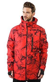 Куртка Quiksilver Impact Print Highdye Red