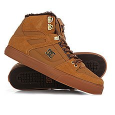 Кеды утепленные DC Spartan High Wc Wheat/Dk Chocolate