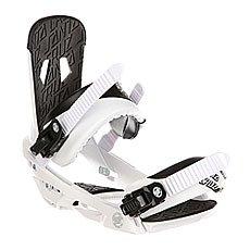 Крепления для сноуборда Santa Cruz Sigma Emy White