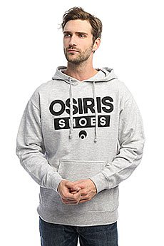 Толстовка кенгуру Osiris Fleece Hood Legacy Heather
