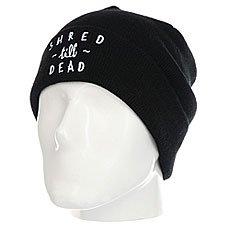 Шапка Rip Curl Shred Till Dead Beanie Black