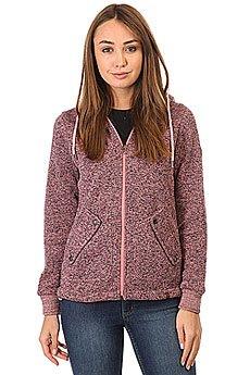 Толстовка классическая женская Rip Curl Active Heather Polar Fleece Shell Pink