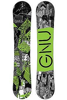 Сноуборд GNU Crbn Crdt Btx Green Ast