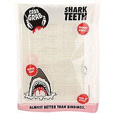 Наклейки на сноуборд Crabgrab Shark Teeth Clearish