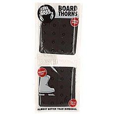 Наклейки на сноуборд Crabgrab Board Thorns Black