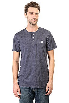 Футболка Huf Classic H Henley Navy Heather