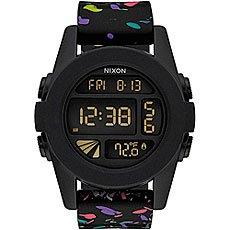 Электронные часы Nixon Unit Black Multi Speckle