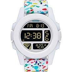Электронные часы Nixon Unit White Multi Speckle