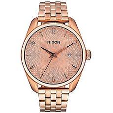 Кварцевые часы женские Nixon Bullet All Rose Gold