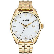 Кварцевые часы женские Nixon Bullet Gold/White