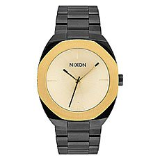 Кварцевые часы женские Nixon Catalyst Black/Gold
