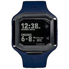 Кварцевые часы Nixon Ultratide Blue/Gunmetal