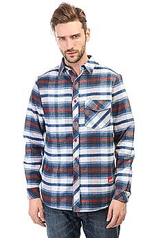 Рубашка в клетку Skills Check Shirt White/Blue