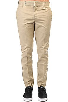 Штаны узкие Dickies Slim Fit Work Pant Khaki