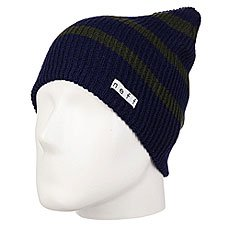 Шапка носок Neff Daily Stripe Beanie Green/Blue