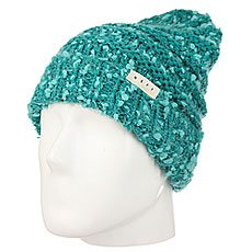 Шапка женская Neff Rose Beanie Dark Teal