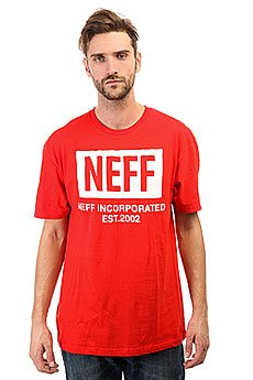 Футболка Neff New World Red