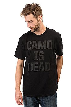 Футболка Neff Camo Is Dead Black