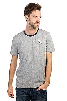 Футболка Le Coq Sportif Javelot N°2 Light Heather Grey