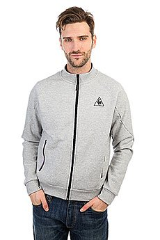 Толстовка классическая Le Coq Sportif Lcs Tech Fz Sweat Light Heather Grey