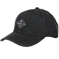Бейсболка классическая Quiksilver Balasting Black