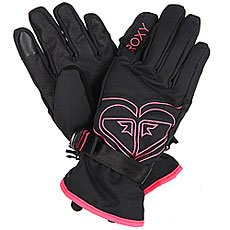 Перчатки сноубордические женские Roxy Popi Gloves True Black