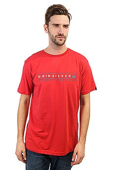 Футболка Quiksilver Alwaysclean Cardinal
