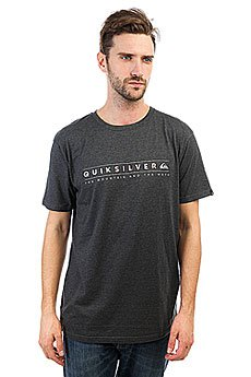 Футболка Quiksilver Alwaysclean Charcoal Heather