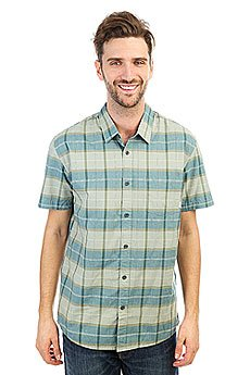 Рубашка в клетку Quiksilver Everydaycheckss Iceberg Green Check