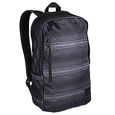 Рюкзак городской Nixon Smith Backpack Se Black/Gray/Pop Stripe