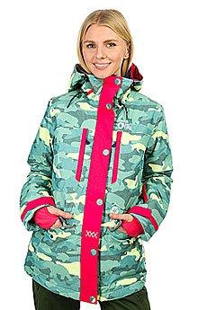 Куртка утепленная женская Picture Organic May Blue Camo Print