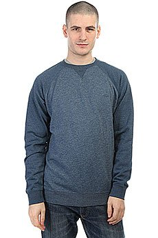 Толстовка свитшот Quiksilver Everydaycrew Dark Denim Heather