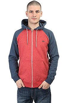 Толстовка классическая Quiksilver Everydayzip Rpeh Cardinal Heather