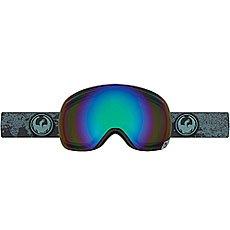 Маска для сноуборда Dragon X1 Mason Grey/Flash Green Polarized
