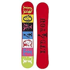 Сноуборд женский Limited4You Font 144 Multicolor