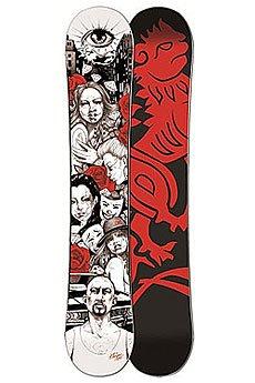 Сноуборд Imperivm Chikana Love 159 Black/Red/White