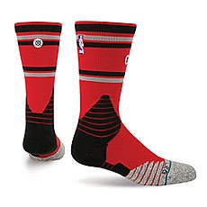 Носки средние Stance Nba Oncourt Core Crew Raptors Red