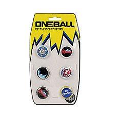 Наклейки на сноуборд Oneball Traction - Bottle Caps Assorted