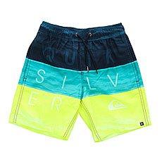 Шорты пляжные детские Quiksilver Wordwavesvly15 B Jamv Viridian Green