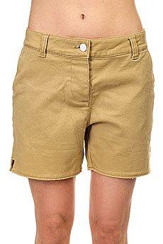 Шорты классические женские Colour Wear Whiff Shorts Camel